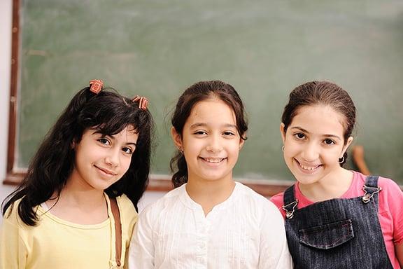 Active children in school NAET Dubai