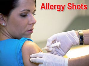Shots for allergy - NAET Dubai