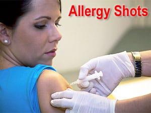 Shots for allergy - NAET Dubai