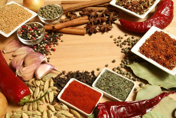 Different kinds of Spices - NAET Dubai