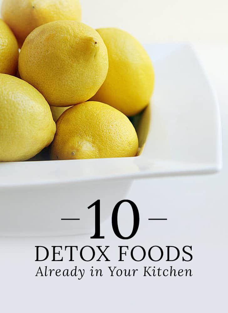Foods for Detox NAET Dubai