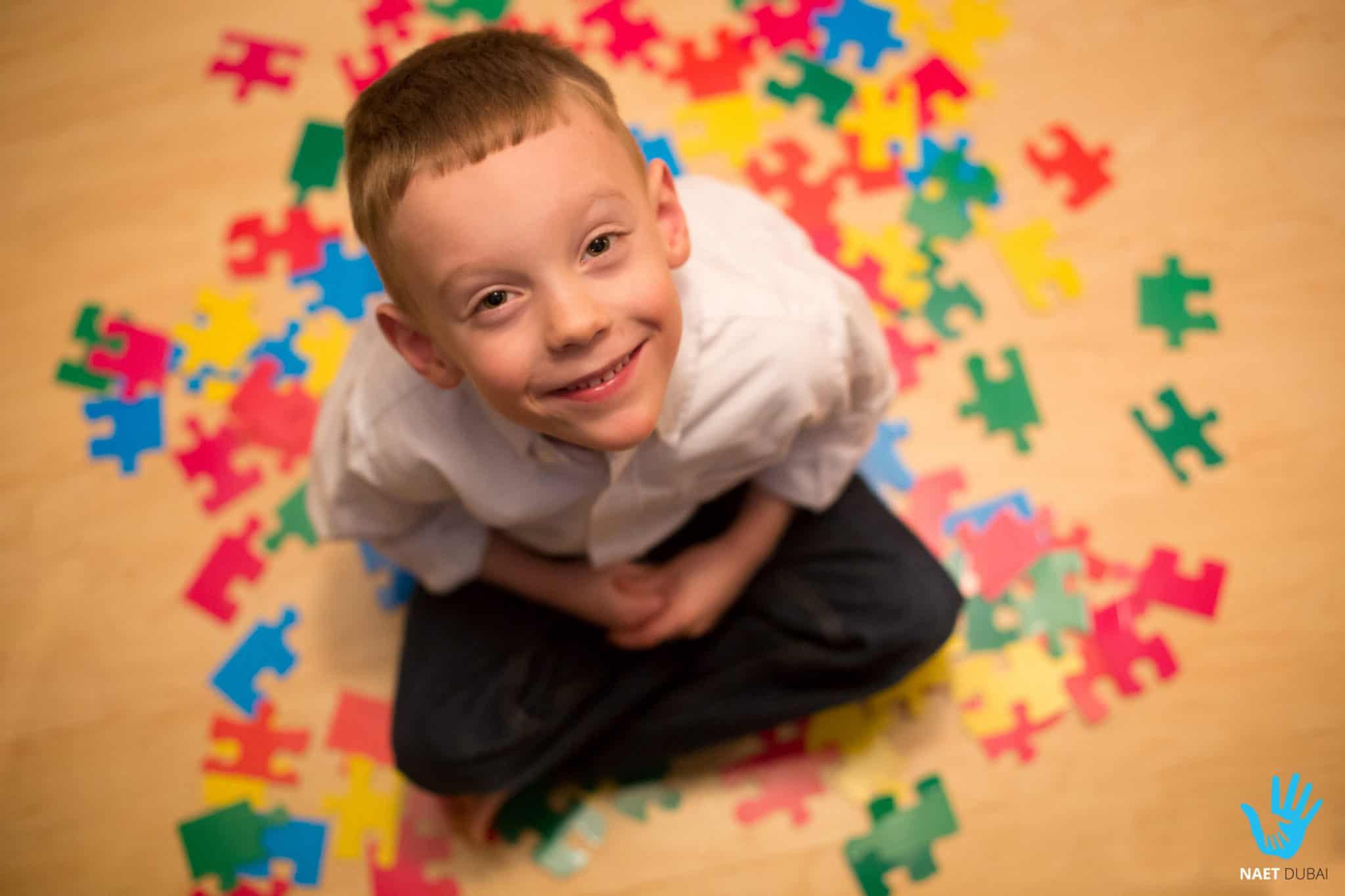 Autistic Child NAET Dubai