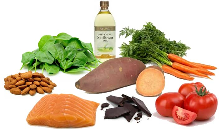 Foods rich in Vitamin A - NAET Dubai