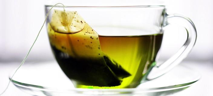Green Tea in a cup - NAET Dubai