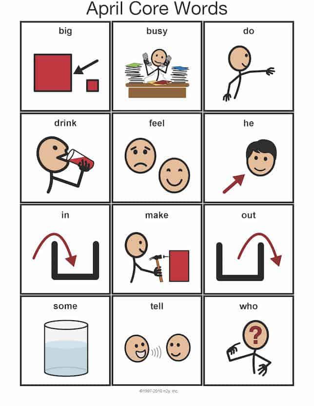 Visual communication guide - NAET Dubai