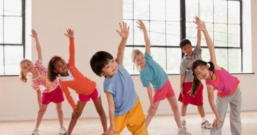 Children needs to do exercise - NAET Dubai