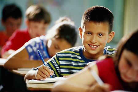 Children at school - NAET Dubai