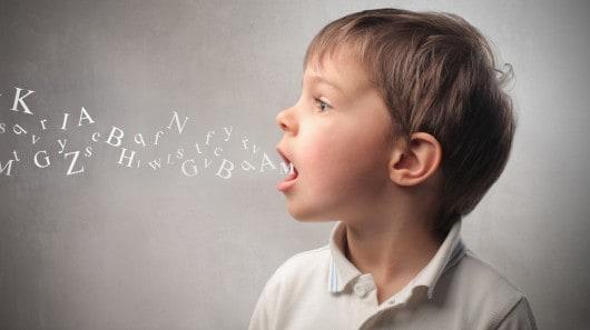 A child speaking NAET Dubai