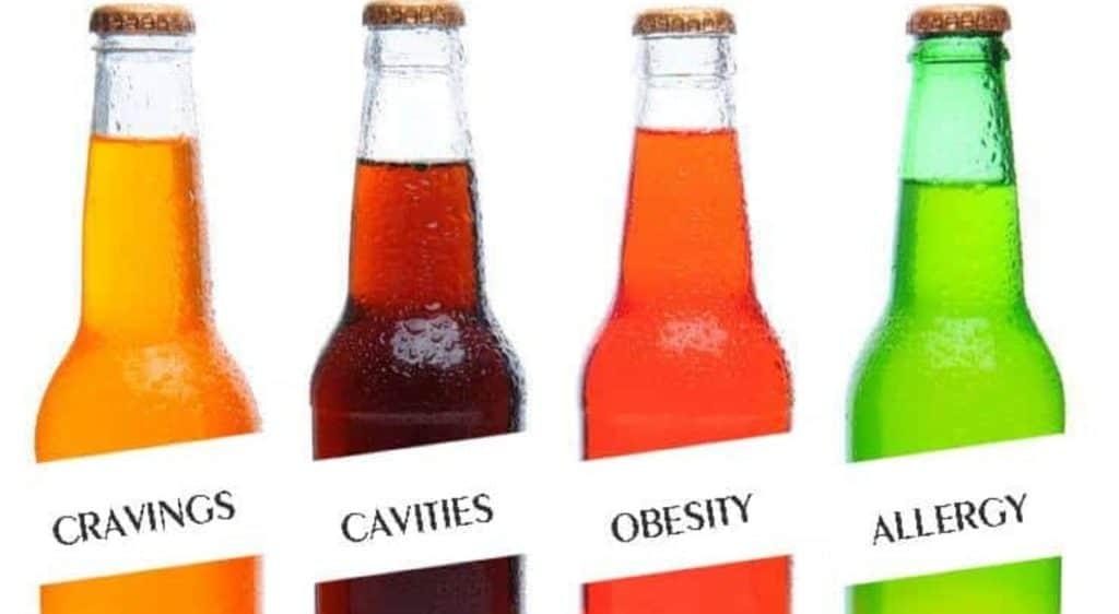 soda / soft drinks